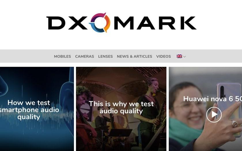 DxOMark Classement photo Huawei