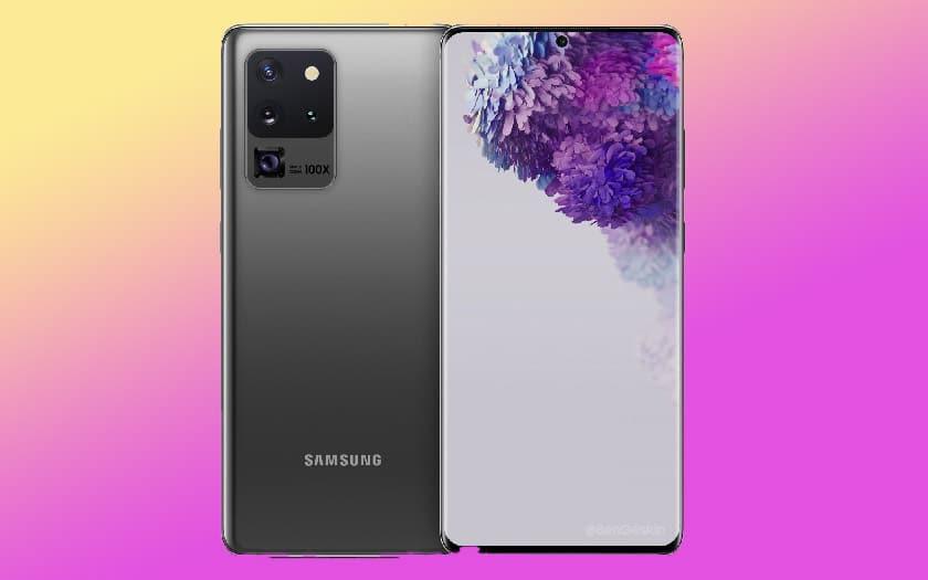 galaxy s20 écran 120hz réglé défaut 60 hz