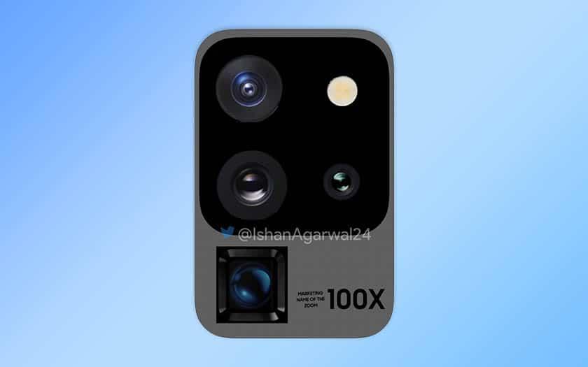 galaxy s20 ultra design appareil photo