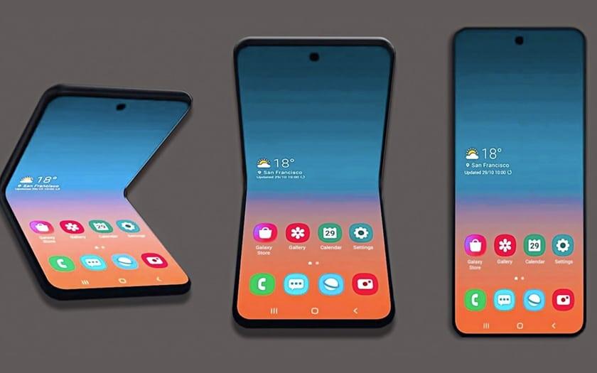 Galaxy Z Flip Bloom Fold 2