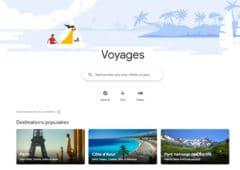 google voyage page de garde