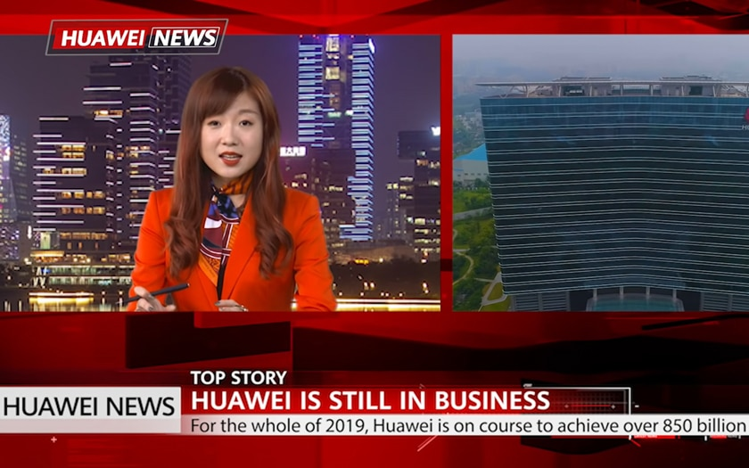 huawei news chaine tv - Huawei launches a TV channel 100% dedicated to Huawei - Phonandroid