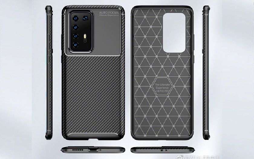 huawei p40 pro design complet