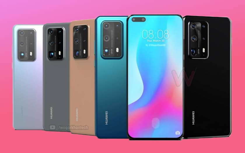 2020 Upcoming Smartphones Huawei P40 & P40 Pro