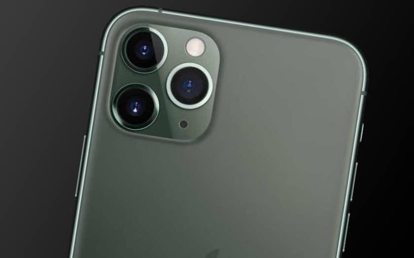 Dos d'un iPhone 11