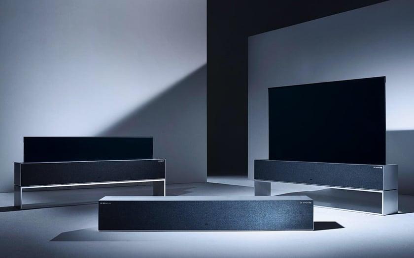 LG TV enroulable