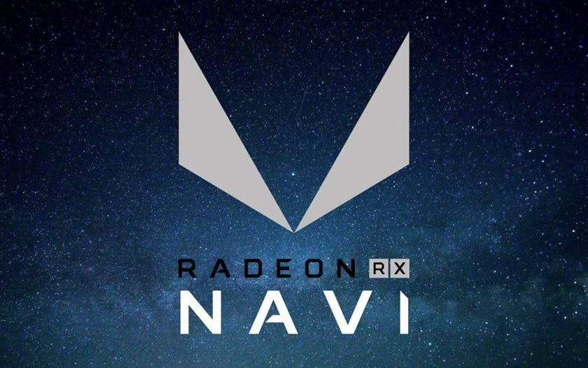 logo AMD Radeon RX Navi