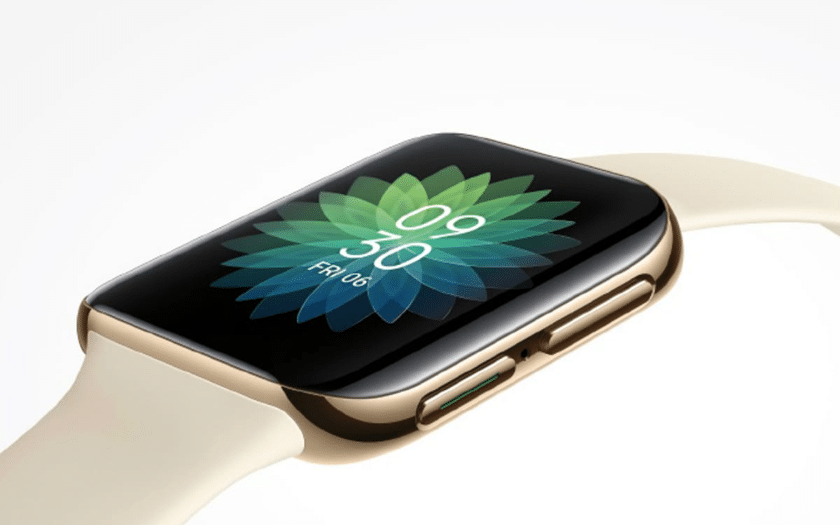 Oppo : sa smartwatch s'inspire fortement de l'Apple Watch