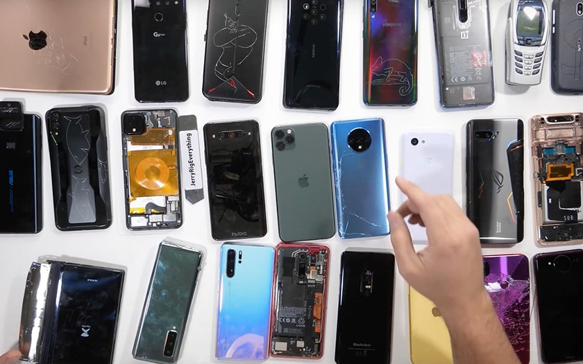 pixel 4 xl redmi note 7 smartphones plus fragiles 2019