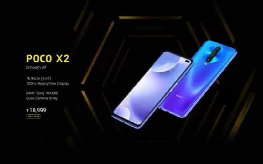 poco x2 fuite design redmi k30