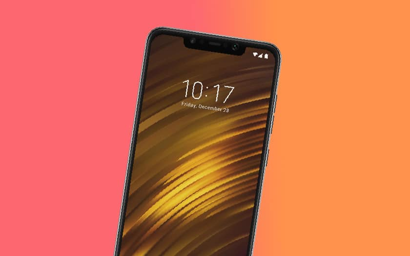 pocophone f1 mise jour android 10 disponible