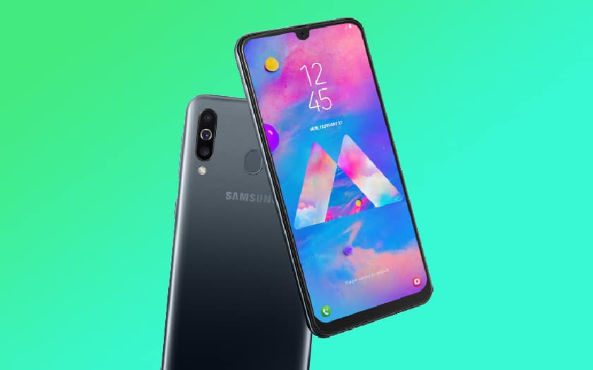 samsung galaxy m30 android 10 mise jour