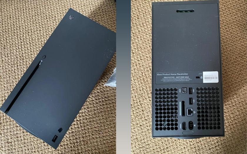Xbox Seriex X : des photos d'un prototype disponibles sur Internet
