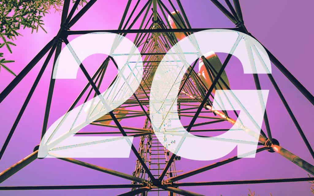2G réseau antennes