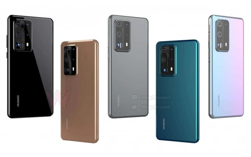 Huawei P40 and P40 Pro: both models will be entitled to 5G, it's confirmed