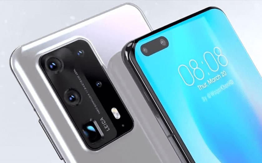 huawei p40 pro recharge rapide 40w