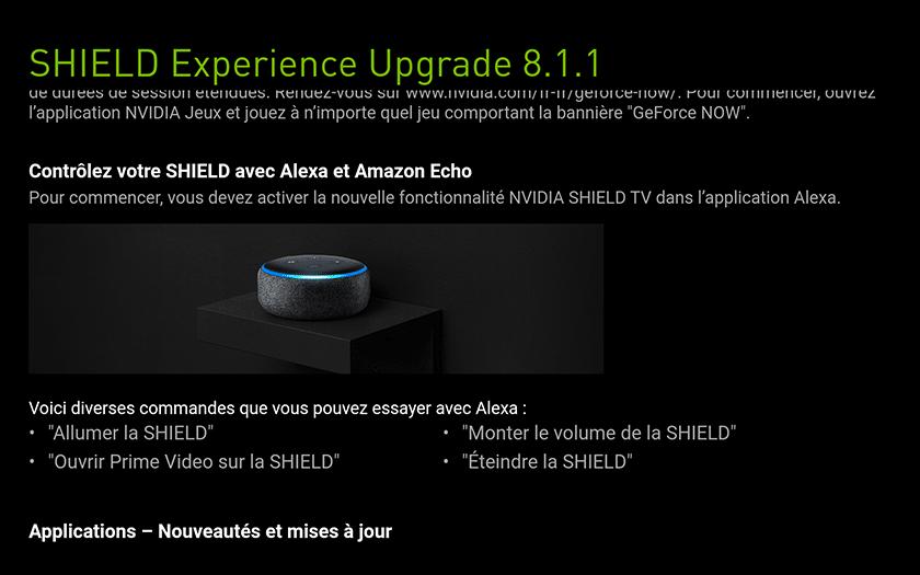 Nvidia Shield TV 2019 8.1.1