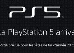 PS5 Ouverture Page Web Officielle