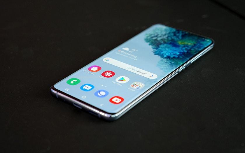 Prise en main Samsung Galaxy S20