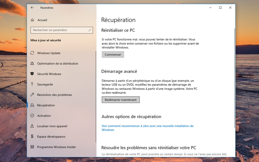 Windows 10 Comment Acceder Bios UEFI