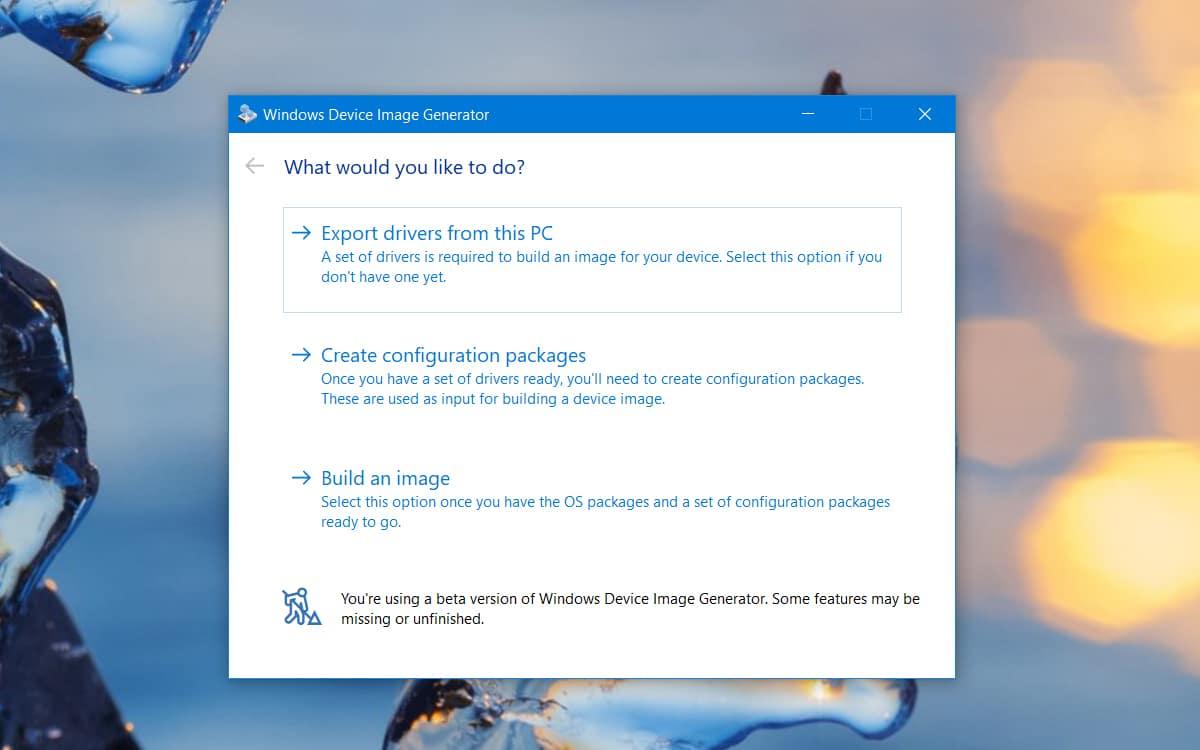 Windows 10X Creation image installation