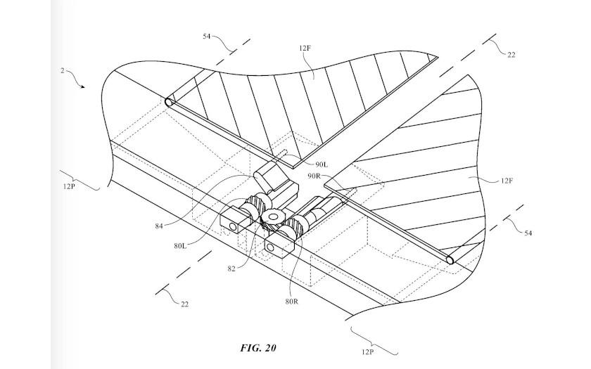 apple brevet ecran flexible sans trace