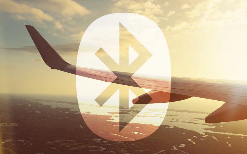 Bluetooth avion