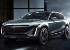 cadillac vehicule electrique teaser