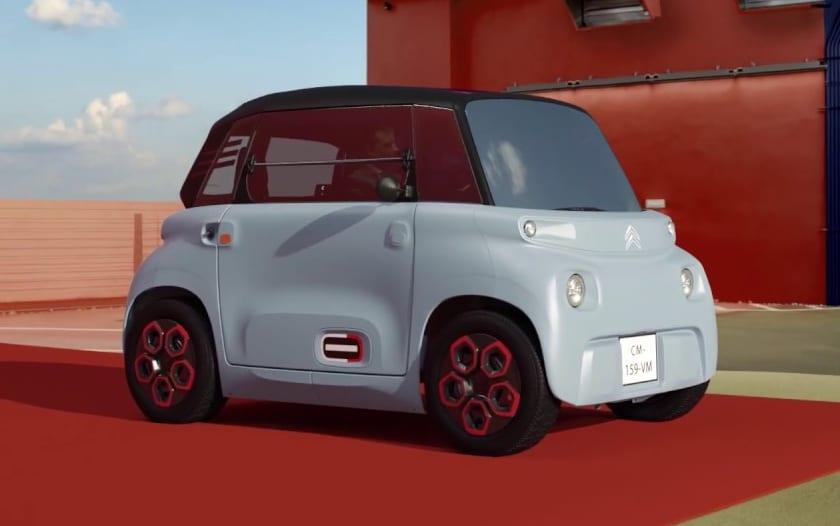 """Citroën lance """"l'Ami"""", une petite citadine électrique sans permis à 6900 € ou 19,90 €/mois - PhonAndroid.com"""