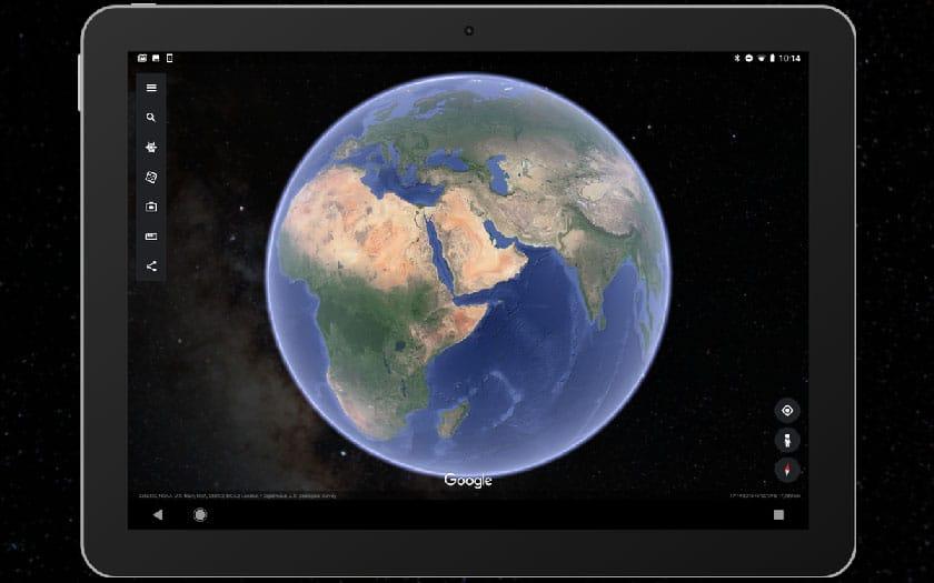 google earth étoiles smartphone