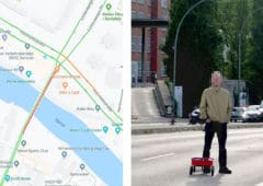 google maps 99 smartphone embouteillage virtuel