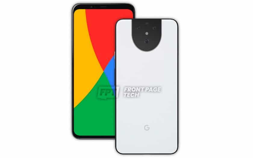 google pixel 5 rendu 3d