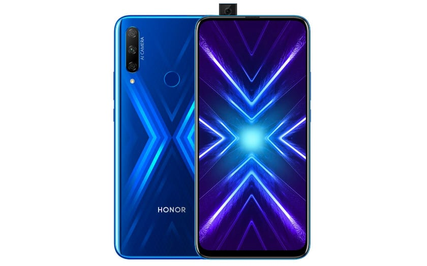 The Honor 9X Pro will be the first Honor in Europe with the Huawei Mobile Services