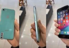 iphone 9 video prise main design
