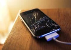 iphone ecran cassé