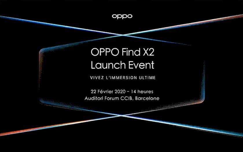 oppo find x2 présentation mwc 2020
