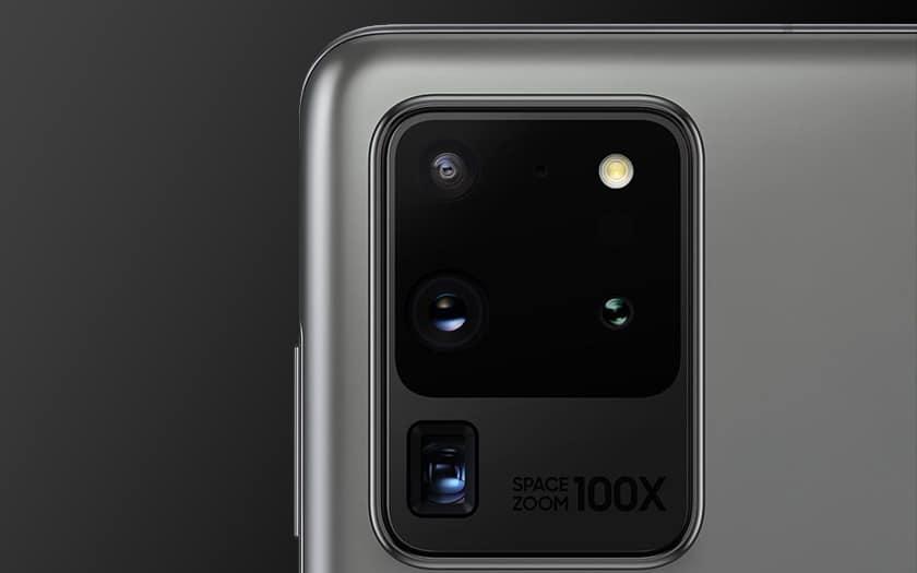 S20 Ultra capteurs photo