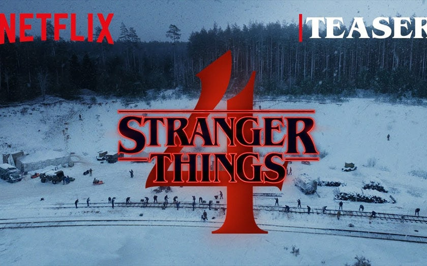 Bande annonce Stranger Things 4