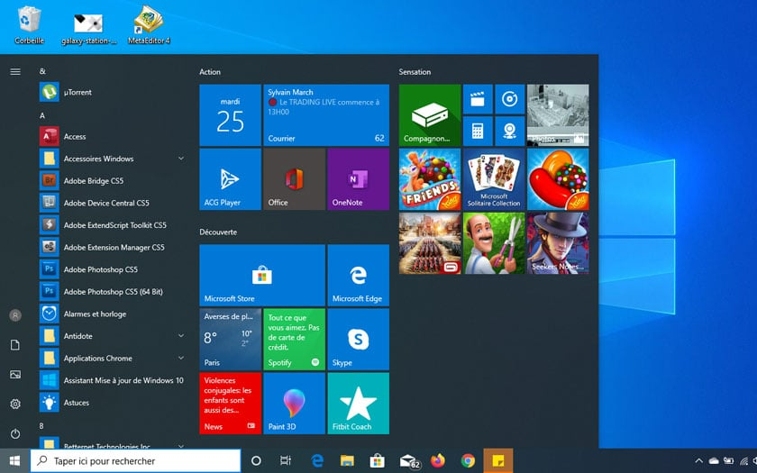 Windows 10: Microsoft could get rid of the square tiles in the Start menu –  Archyde