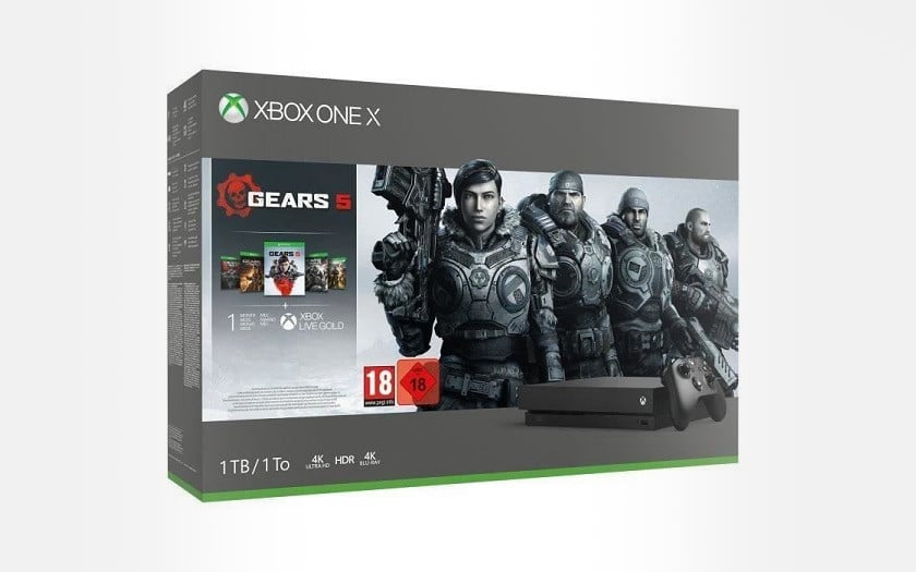 Xbox one X 1 To edition limitee gears of war