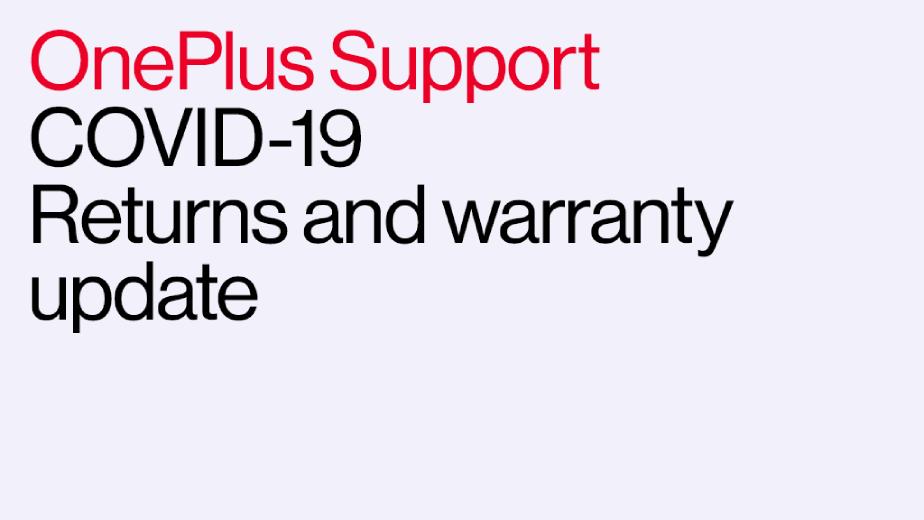 OnePlus garantie