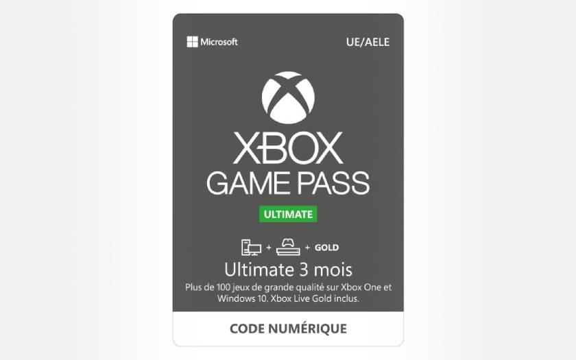 6 mois d'abonnement au Xbox Game Pass Ultimate au prix de 3 mois