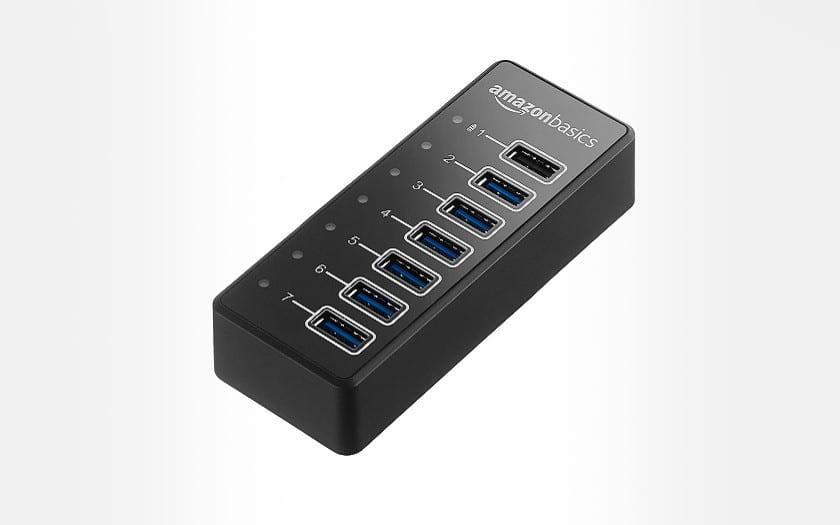 Amazon Basics 7-Port USB-C Hub
