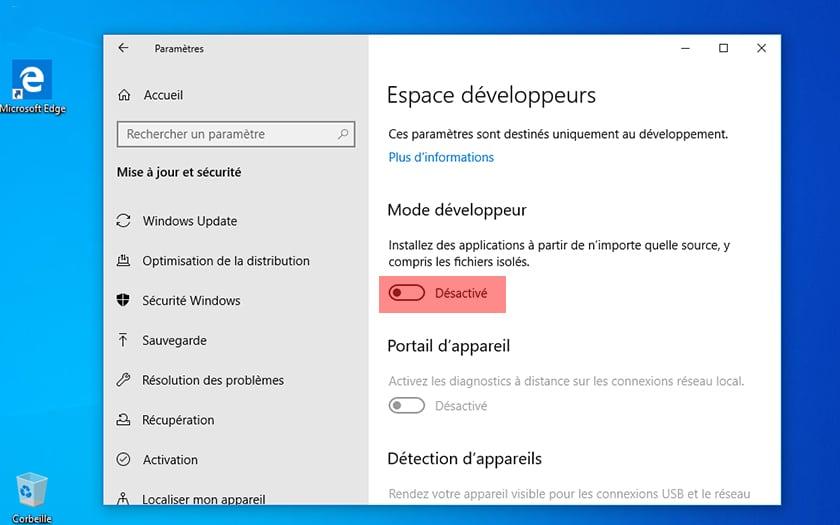 Comment installer Explorateur Fichiers moderne Windows 10