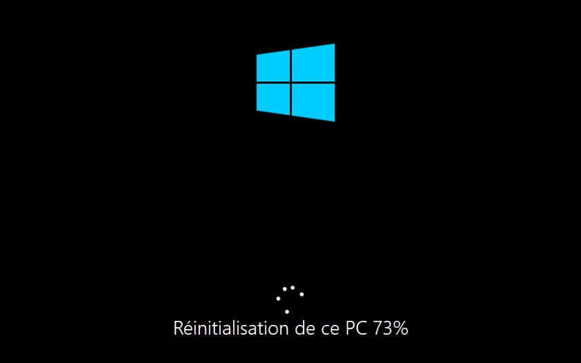 Comment reinitialiser Windows 10