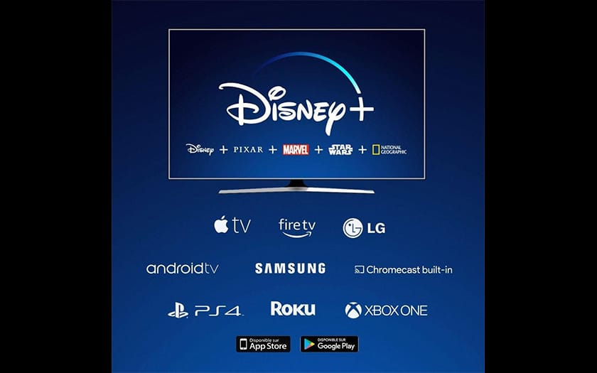 Devices compatible with Disney +
