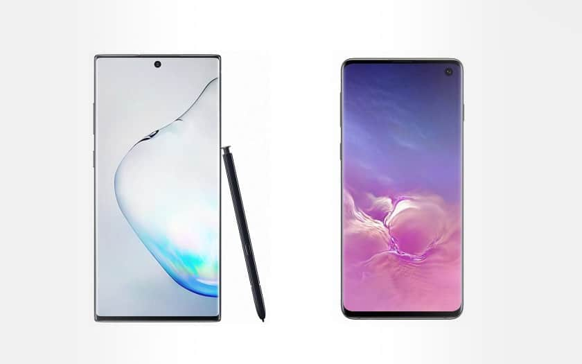 Galaxy Note 10 plus galaxy S10