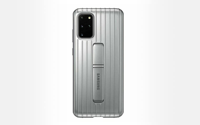 Galaxy S20 5G Rugged Protective Cover Silver