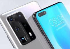 Huawei p40 pro recharge rapide 40w 768x480