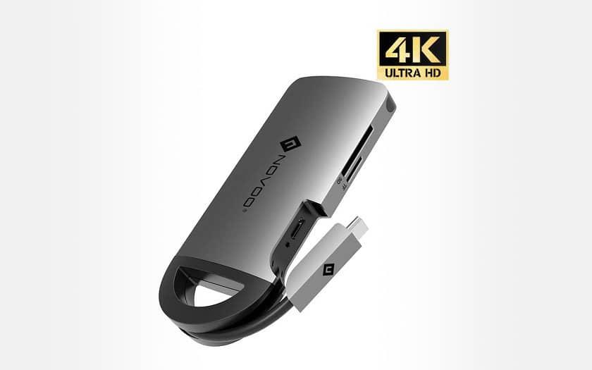 Novoo 8 in 1 USB-C Hub
